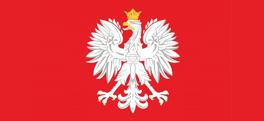 Godło Polski - origami płaskie z koła - Portal educarium